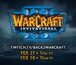 Blizzard Host 'Warcraft III' Match